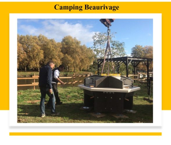 camping beaurivage barbecue collectif