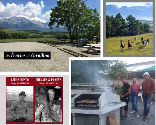 Ecuries de cornillon barbecue collectif