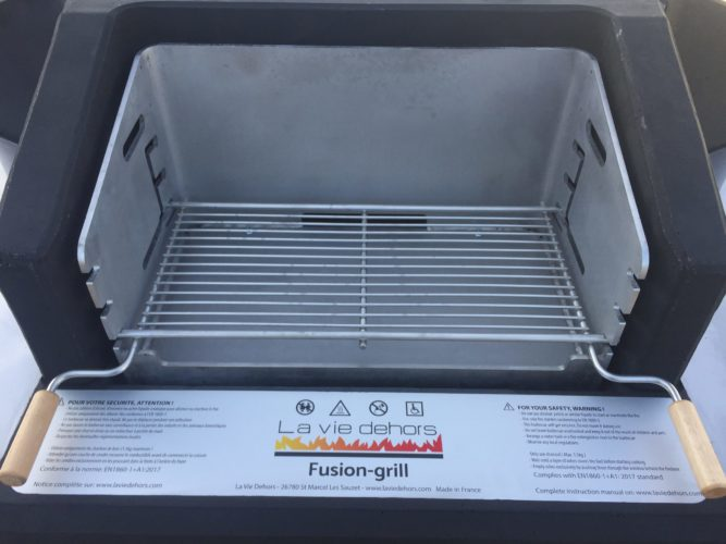 barbecue collectif grille